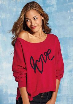 Love Boxy Pullover - xl