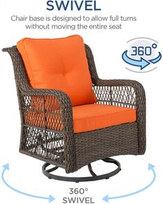"""Patio chairs are the key """"ingredient"""" for the patio space you have. Not only can they add up in terms of decoration, they will also serve as means to a good time with friends and family. With the right pick, you will transform your outside space in visuals and allow yourself some enjoyable relaxing time on your patio. Patio Chairs, Outdoor Chairs, Outdoor Decor, Patio Furniture Sets, Outdoor Furniture, Key Ingredient, Swivel Chair, Outdoor Gardens, House Design"""