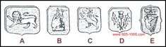 British Sterling - English Hallmarks, Irish Hallmarks & Scottish Hallmarks