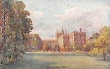 """Oxford, New College, drawing """"Allen Shuffrey"""" Series"""