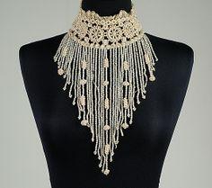 Collar Date: 1892 Culture: French Medium: Silk, linen, beads