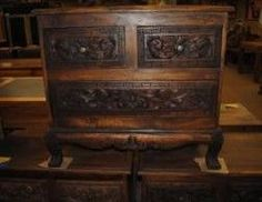 Carved teak night stand from Bali Boo Hawaii! Love this store!! They will ship smaller items anywhere!