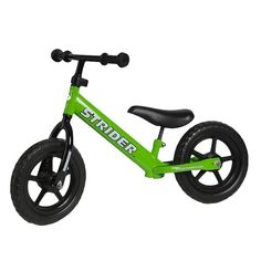 Your toddler will be tearing up all types of terrain at the park with this durable bike.