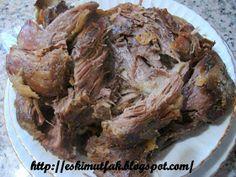 ESKİ MUTFAK : Kuzu Tandır-2- Turkish Kitchen, Old Kitchen, Turkish Recipes, Italian Recipes, Fresh Fruits And Vegetables, Fish And Seafood, Meat Recipes, Stew, Lamb