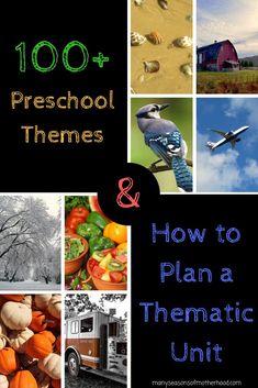 100+ Preschool Theme