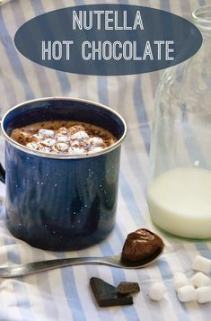 Vicki Brown Designs: Nutella Hot Chocolate :: A Recipe ::