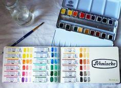 Schmincke watercolors