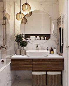 999 Best Bathroom Design Ideas Bathroom in. Best Bathroom Designs, Bathroom Design Luxury, Modern Bathroom Design, Amazing Bathrooms, Bathroom Inspiration, Cheap Home Decor, Small Bathroom, House Design, Design Ideas