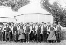 Gardeners at Skibo Castle in 1902.