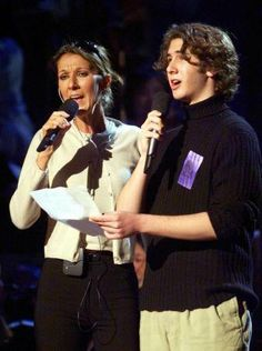 "Josh at 17 filling in for Andrea Bocelli at an Emmy rehearsal with Celine Dion--""The Prayer"" Our Father Lyrics, Celine Dion Songs, Josh Groban Broadway, Josh Gorban, The Great Comet, Sing To Me, Beautiful Voice, Beautiful Notes, My Favorite Music"