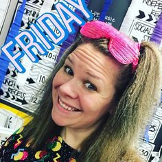 Today for the #Aprilphotochallenge we are to supposed to introduce ourselves so here are some fun facts about me! (Sidenote: this pic is of me dressed up fro decades day at school!) . 1 I am currently a 5th grade teacher. I have also taught 6th grade ELA (for 4 years.)  2 My commute to work is 8 minutes 12 if I hit traffic on a busy cross street!  3 I love cherry dipped cones from Dairy Queen (summer needs to get here quick.)  4 I am a type B teacher and very disorganized despite all my…
