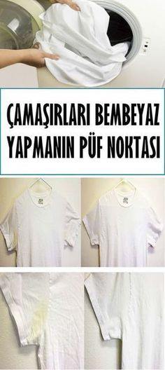 Çamaşırları Bembeyaz Yapmanın Püf Noktası House Cleaning Tips, Cleaning Hacks, Natural Cleaners, Diy Pins, Home Hacks, Seville, Homemaking, Helpful Hints, Aspirin