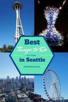 Best Things to Do in Seattle on a Cruise. #Cruise #CruiseTips #Seattle #AlaskanCruise