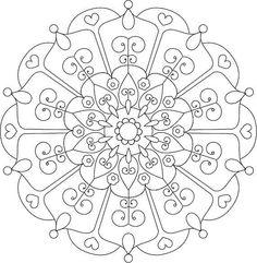 Visit my shop Print Bliss at Etsy and find this mandala coloring page.