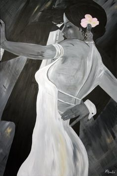 """My study and version of a painting by Bill Bauer.  24""""x36"""".  Please see my website for more details: www.kristinaheredia.com"""