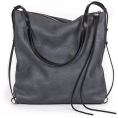 INA KENT - Ample4 Black Antique (495 CAD) ❤ liked on Polyvore featuring bags, handbags, tote bags, purses, bolsas, sac, crossbody tote, vintage backpacks, laptop tote and handbags totes