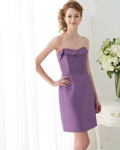 Taffeta Ruffles Flowers Sweetheart Knee Length Bridesmaid Dresses