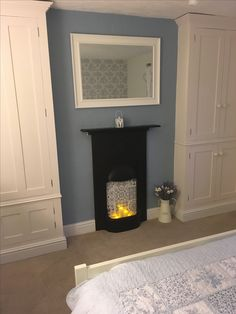 Upcycled Victorian cast iron fireplace