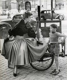 Fashion of 1953 on Pinterest   Knit Fashion, Bermuda ...