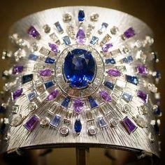Diamond Bracelets, Cuffs & Bangles : Piaget - Buy Me Diamond High Jewelry, Luxury Jewelry, Jewelry Box, Jewelery, Diamond Bracelets, Bangle Bracelets, Bangles, Sapphire Jewelry, Diamond Jewelry