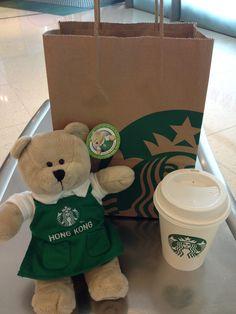 Starbucks Bearista Hong Kong!!