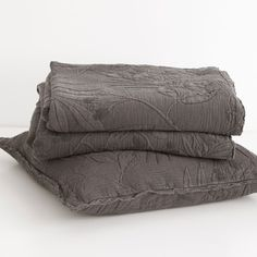 Cotton Jacquard Branches Bedspread and Pillow Cover | ZARA HOME United States of America
