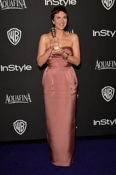 Pin for Later: Après les Golden Globes, L'After-Party! Maggie Gyllenhaal