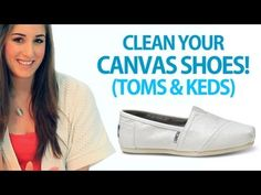 Not only how to clean your canvas shoes, but also how to make shoe/foot powder to keep shoes/feet smelling better!