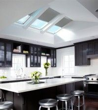 Image result for skylights for gable roof ridge