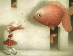 evidently goldfish detail
