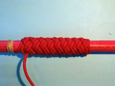How to Tie a Paracord Turks Head Long 3 Bight (19L)