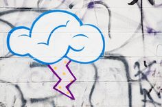 Cloud Graffiti by mythyes, via Flickr