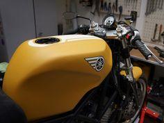 Yamaha Frankenstein Cafe Racer ~ Return of the Cafe Racers