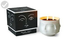 Jonathan Adler White Porcelain Muse Noir Candle - Fun stuff and gift ideas (*Amazon Partner-Link)