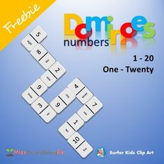 The Purpose of the Game:Dominoes Numbers helps your students to gain the knowledge and recognition of numbers and number names.How to play the Game:Like in the game of dominoes, the objective is to link a matching tile to either side of the domino tile.In this case the tiles must be linked number to number name, see the example in the thumbnail above.In this game everyone wins through assistance, the goal is to keep the train going.Instructions:1.