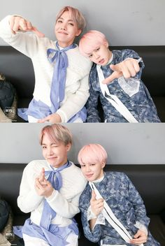 jihope pics on Twitter || the size difference made me confused whether this pic was edited or not..