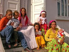 gypsies of today......The Gypsies typically arrange marriage and at an extremely early age, often marrying as early as 9 and to a partner decades older, which has greatly inhibited any toleration by the native population of their culture.