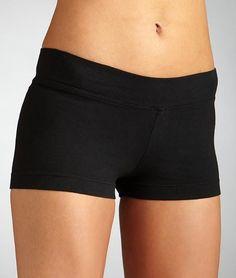 Hard Tail Black Cotton Shorts Shorts   Clothing