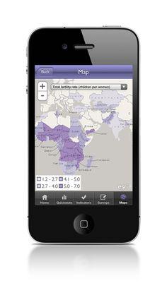 Mobile app for Demographic and Health Survey Data #sociology #methods #data #quantitative