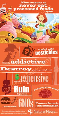 Nine Reasons to Never Eat Processed Foods Again
