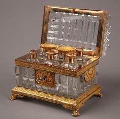 Vintage perfume case.