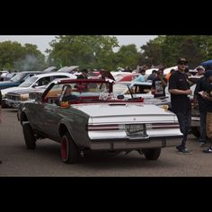 Convertible #Regal out of #Chicago #MajesticsCC. #Lowriders