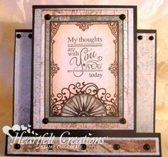 Heartfelt Creations | Thoughts With You Step Card
