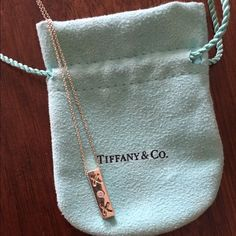 Tiffany's Paloma Picasso XOX Pendant Tiffany & Co Sterling Silver XOX Pendant Necklace. Beautiful piece! Tiffany & Co. Jewelry Necklaces