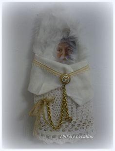 Tradition du Père Noël blanc - Diff'ère Création