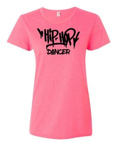 Hip Hop Dancer Ladies T-Shirt