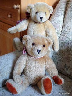 meine ersten handgemachten teddys