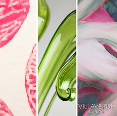 VILLAVERDE #Moodboards - Inspired by Spring 2017 - Our favourite Green & Pink  www.villaverde.london