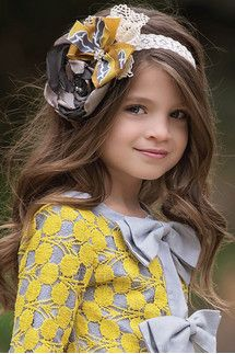 "Lyla Headband | 7085-""Isn't she lovely?  Isn't she beautiful?"""