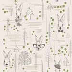 """<strong>Lucky Rabbit Removable 5' x 20"""" Floral Wallpaper</strong> by Walls Need Love"""